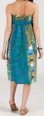 Jupe longue 2en1 transformable en robe-bustier Sarani n2