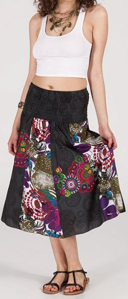 Jupe longue 2en1 transformable en robe-bustier Sarani n3 271393