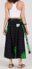 Jupe longue 2en1 transformable en robe-bustier Sarani n5