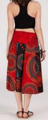 Jupe longue 2en1 transformable en robe-bustier Sarani n7