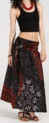Jupe longue 2en1 transformable en robe-bustier Sarani n8 271415