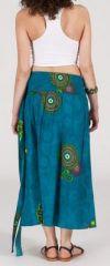 Jupe longue 2en1 transformable en robe-bustier Sarani n9