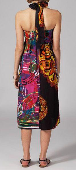 Jupe longue 2en1 transformable en robe-bustier Verona