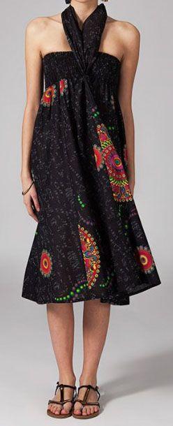 Jupe longue 2en1 transformable en robe Clarice 269307