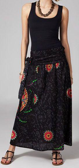 Jupe longue 2en1 transformable en robe Clarice 269309