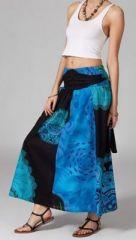 Jupe longue 2en1 transformable en robe ethnique Aina 269243