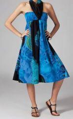 Jupe longue 2en1 transformable en robe ethnique Aina 269244