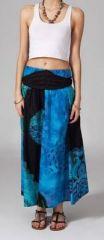 Jupe longue 2en1 transformable en robe ethnique Aina 269246