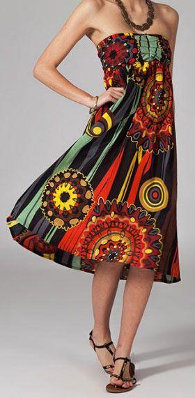 Jupe longue 2en1 transformable en robe Flavie 269301