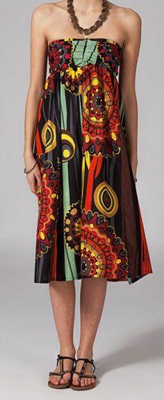 Jupe longue 2en1 transformable en robe Flavie 269303