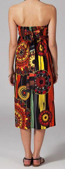 Jupe longue 2en1 transformable en robe Flavie