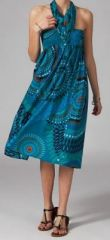 Jupe longue 2en1 transformable en robe Flora 269289