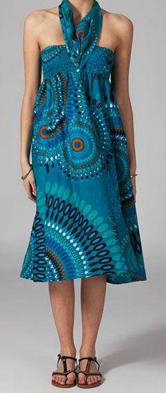 Jupe longue 2en1 transformable en robe Flora 269290