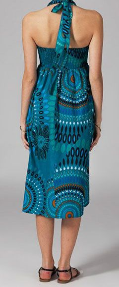 Jupe longue 2en1 transformable en robe Flora
