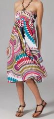 Jupe longue 2en1 transformable en robe Linda 269312