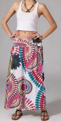 Jupe longue 2en1 transformable en robe Linda 269313