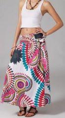 Jupe longue 2en1 transformable en robe Linda 269315