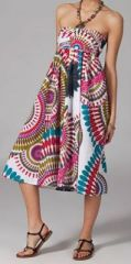 Jupe longue 2en1 transformable en robe Linda 269316