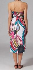 Jupe longue 2en1 transformable en robe Linda