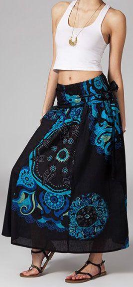 Jupe longue 2en1 transformable en robe Nabine 269264