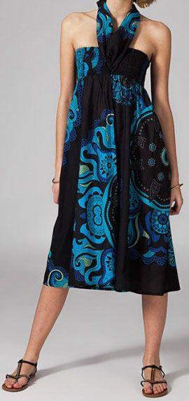 Jupe longue 2en1 transformable en robe Nabine 269266