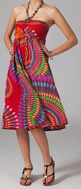 Jupe longue 2en1 transformable en robe Sabrina 269281