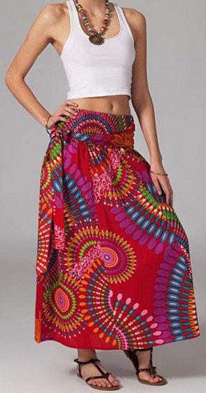 Jupe longue 2en1 transformable en robe Sabrina 269283