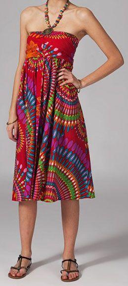 Jupe longue 2en1 transformable en robe Sabrina 269284