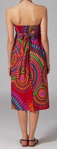 Jupe longue 2en1 transformable en robe Sabrina 269285