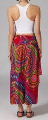 Jupe longue 2en1 transformable en robe Sabrina