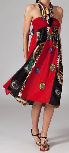 Jupe longue ethnique 2en1 transformable en robe Emma 269250