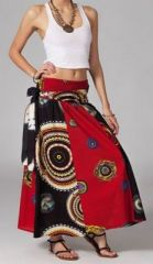 Jupe longue ethnique 2en1 transformable en robe Emma 269251