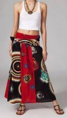 Jupe longue ethnique 2en1 transformable en robe Emma 269252