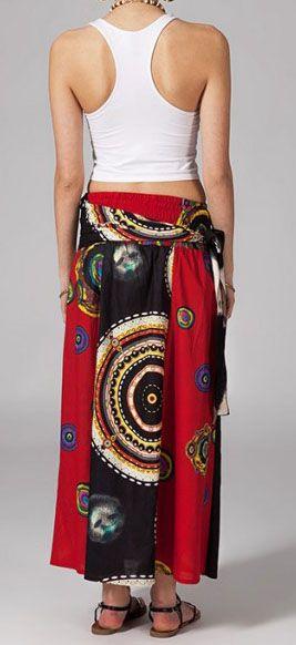 Jupe longue ethnique 2en1 transformable en robe Emma 269254
