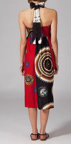 Jupe longue ethnique 2en1 transformable en robe Emma 269255