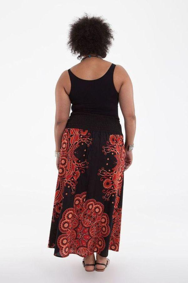 jupe longue femme ronde ethnique manille. Black Bedroom Furniture Sets. Home Design Ideas