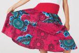 Jupe Mi-longue enfant Originale et Color�e Siala Rose 277348
