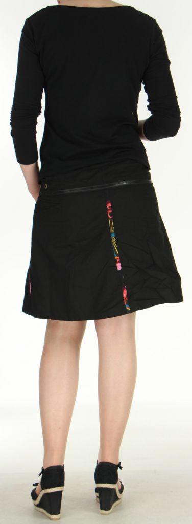 Jupe ou Surjupe courte très originale et colorée Noire Pili 272798