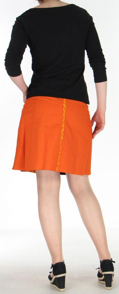 Jupe ou Surjupe courte très originale et colorée Orange Pili 272786