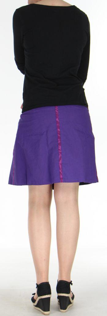 Jupe ou Surjupe courte très originale et colorée Violette Pili 272803