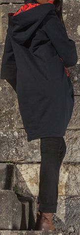Manteau femme en toile de coton Ethnique et Coloré Giany 274612