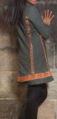 Manteau femme en toile de coton Original et Ethnique Ellan 274600