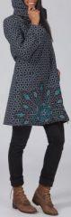 Manteau femme en toile de coton Original et Ethnique Ellio 274604