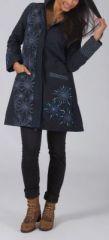 Manteau femme en toile de coton Original et Ethnique Elouen 274607