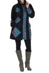 Manteau femme noir Gunjan 266795
