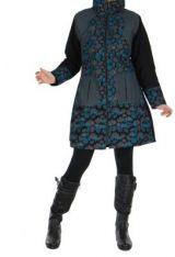 Manteau noir femme original Khamsa 266533