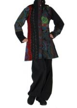 Manteau patchwork femme Louna 266433
