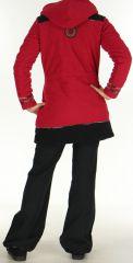 Manteau Polaire pour femme Ethnique et Original Shahyn Fushia 276196