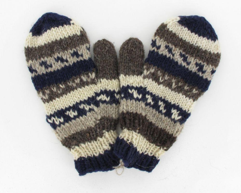 moufle azic en laine 244077