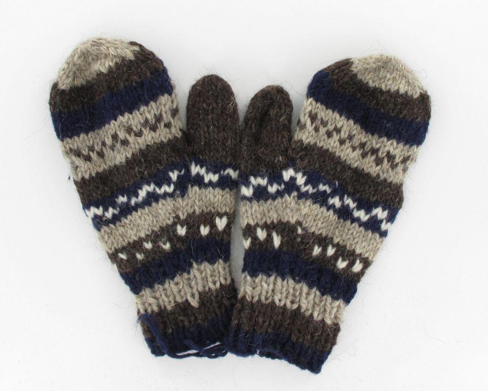 moufle azic en laine 244078